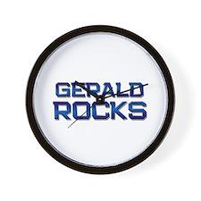 gerald rocks Wall Clock
