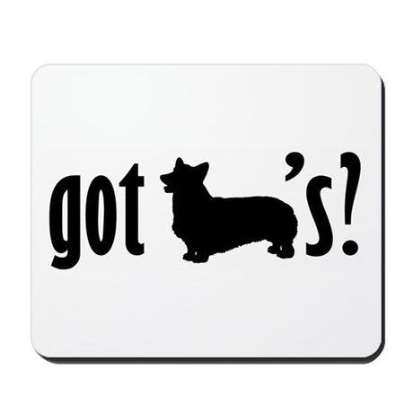 Got Corgis? Mousepad