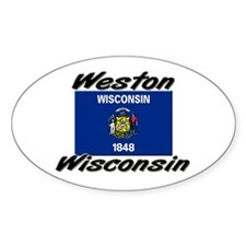 Weston Wisconsin Oval Decal
