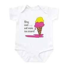 Stay Cool/Eat Ice Cream Onesie