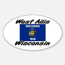 West Allis Wisconsin Oval Decal