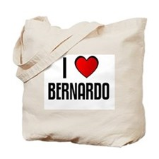 I LOVE BERNARDO Tote Bag