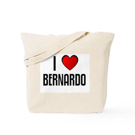 I LOVE BERNARDO Tote Bag