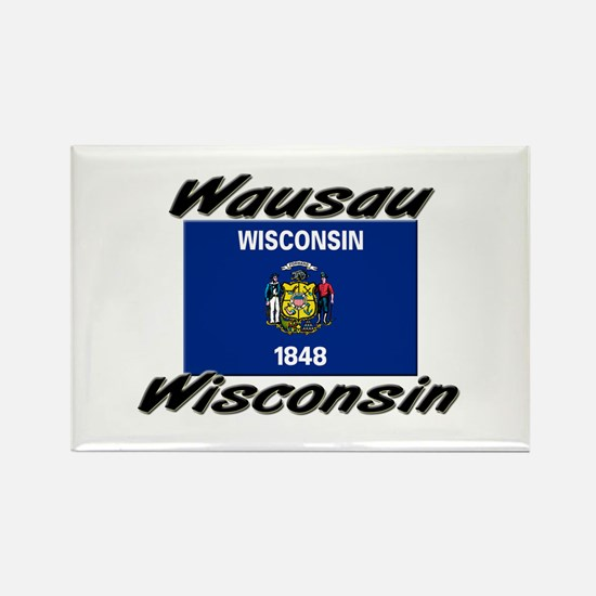 Wausau Wisconsin Rectangle Magnet