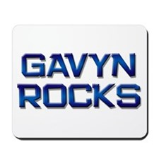 gavyn rocks Mousepad