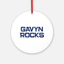 gavyn rocks Ornament (Round)