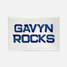 gavyn rocks Rectangle Magnet