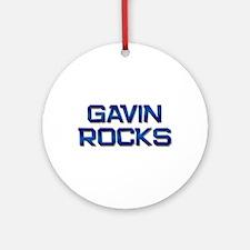 gavin rocks Ornament (Round)