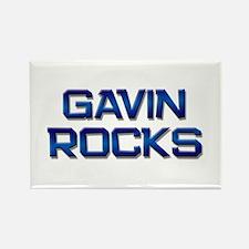 gavin rocks Rectangle Magnet