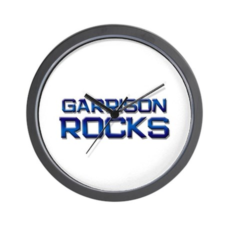 garrison rocks Wall Clock