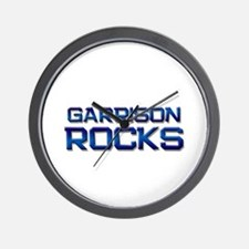 garrison rocks Wall Clock