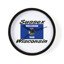Sussex Wisconsin Wall Clock
