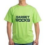 garret rocks Green T-Shirt