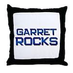 garret rocks Throw Pillow