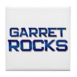 garret rocks Tile Coaster