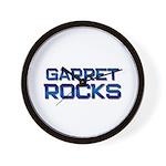 garret rocks Wall Clock
