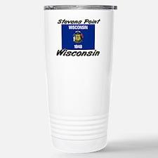 Stevens Point Wisconsin Travel Mug