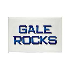gale rocks Rectangle Magnet