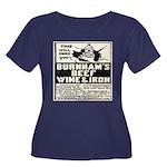 Women's Plus Size Burnham's Quackery T-Shirt