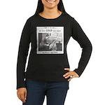 Women's Long Sleeve Sal Hepatica T-Shirt