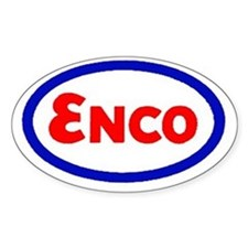 Enco Oval Decal