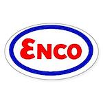 Enco Oval Sticker