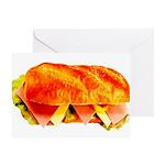 Grinder Sandwich Greeting Card
