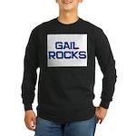 gail rocks Long Sleeve Dark T-Shirt