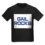 gail rocks Kids Dark T-Shirt