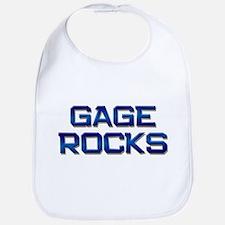 gage rocks Bib