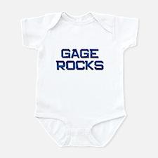 gage rocks Infant Bodysuit