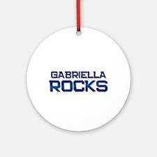 gabriella rocks Ornament (Round)