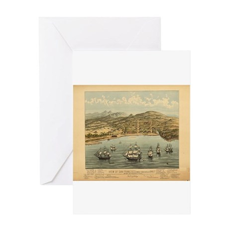 Antique Maps Greeting Card