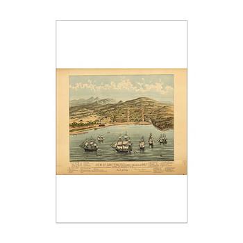 Antique Maps Mini Poster Print