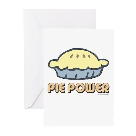 Pie Power Greeting Cards (Pk of 10)