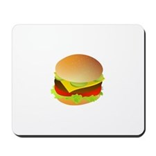 Cheeseburger Mousepad