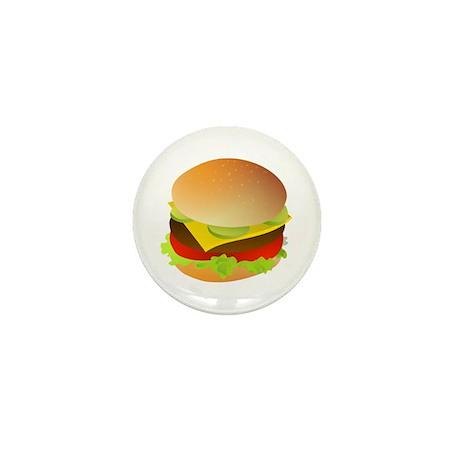 Cheeseburger Mini Button (10 pack)