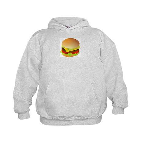 Cheeseburger Kids Hoodie