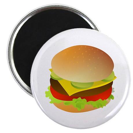"Cheeseburger 2.25"" Magnet (100 pack)"
