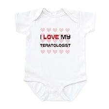 I Love My Teratologist Infant Bodysuit
