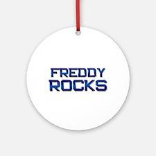 freddy rocks Ornament (Round)