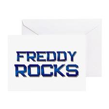 freddy rocks Greeting Card
