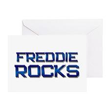 freddie rocks Greeting Card