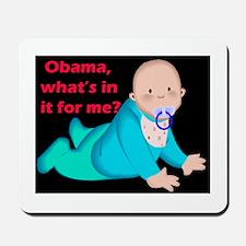 baby obama Mousepad
