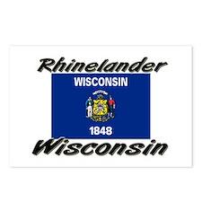 Rhinelander Wisconsin Postcards (Package of 8)