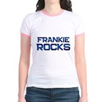 frankie rocks Jr. Ringer T-Shirt