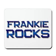 frankie rocks Mousepad
