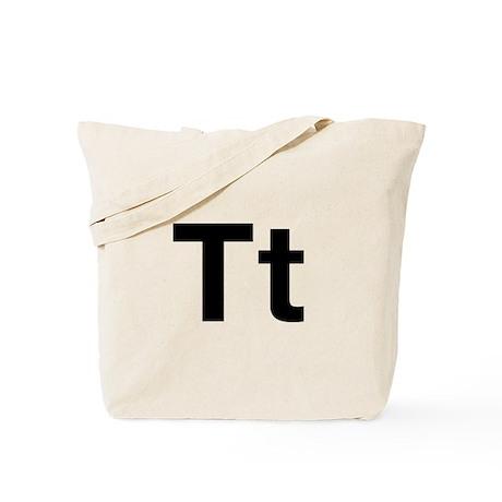 Helvetica Tt Tote Bag