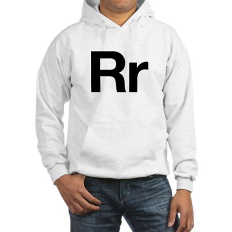 Helvetica Rr Hooded Sweatshirt