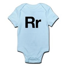 Helvetica Rr Infant Bodysuit